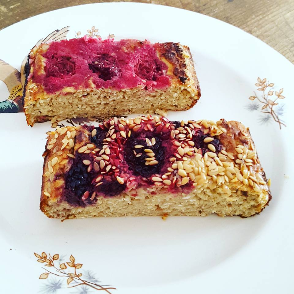 Porridge Cake Slices