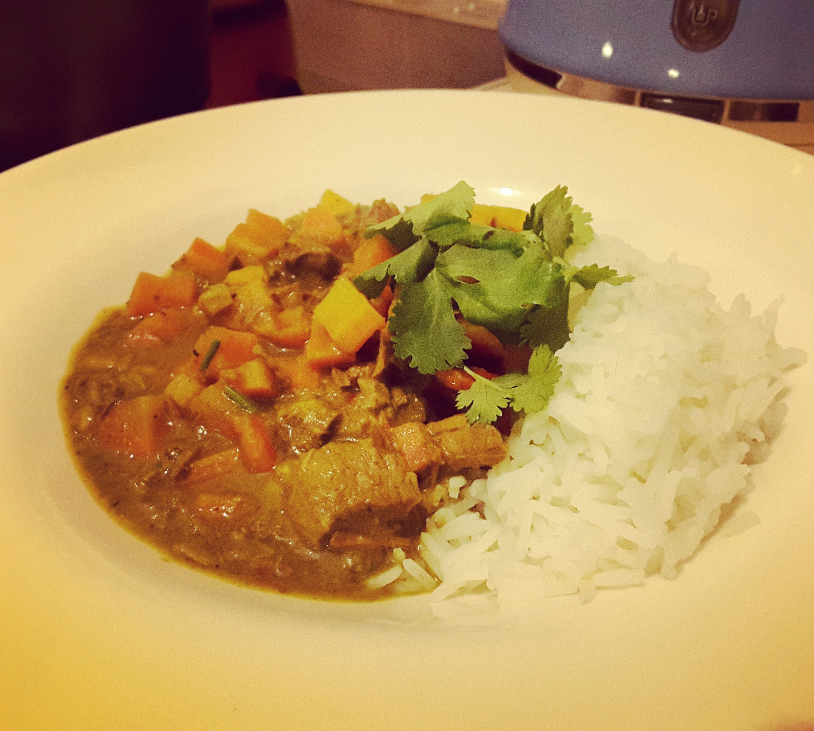 Coconutty Lamb Curry