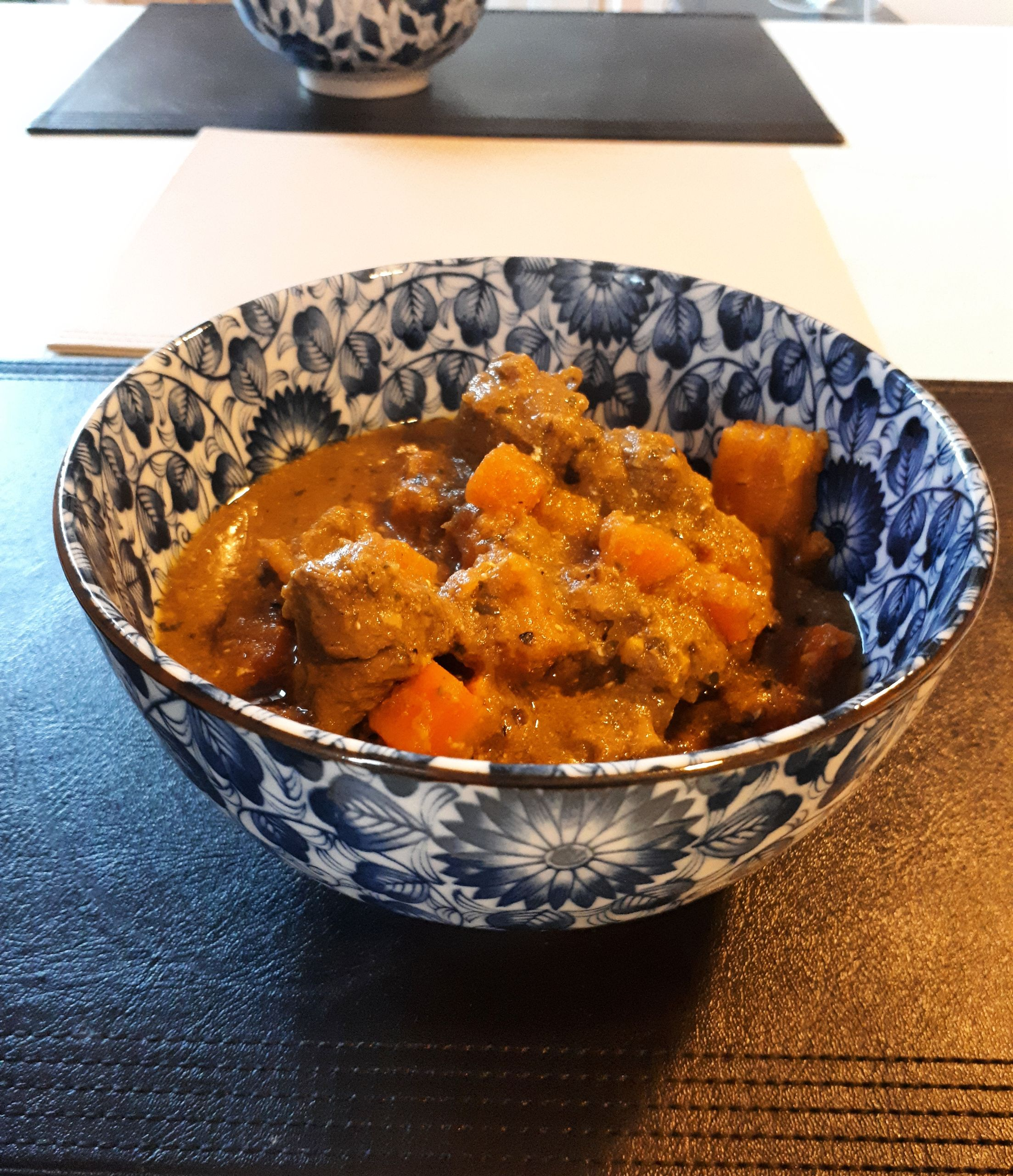 Tasty lamb curry